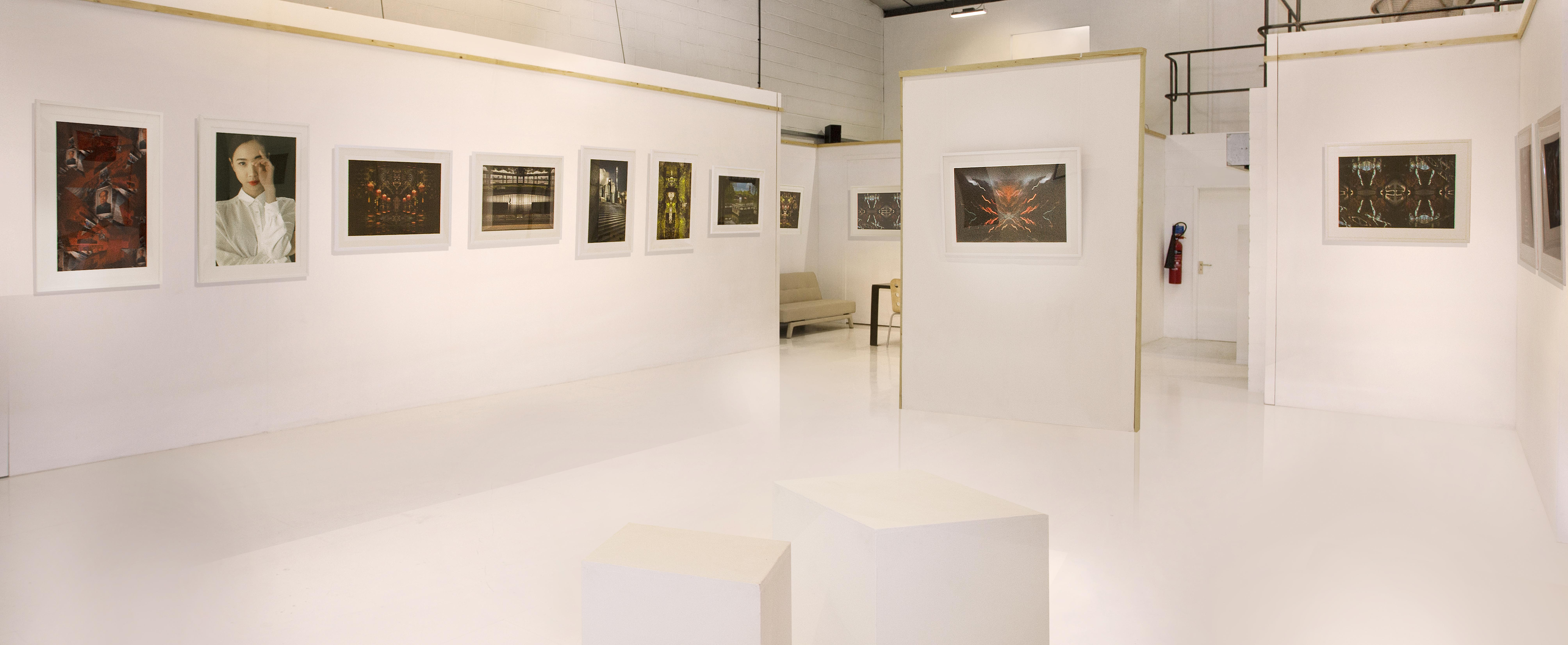 A view from the gallery space